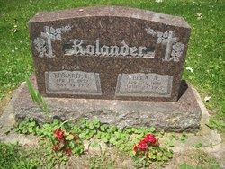 Ella A. <I>Detert</I> Kolander