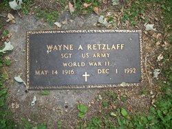 Wayne A. Retzlaff