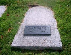 Ella Myrtle <I>Jennings</I> Wilt
