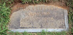 John Clifford Johnson