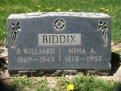 Nina Ann <I>Nelson</I> Biddix