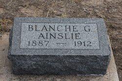 Blanche <I>Prentice</I> Ainslie