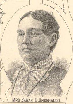 Sarah B. <I>Stratton</I> Underwood
