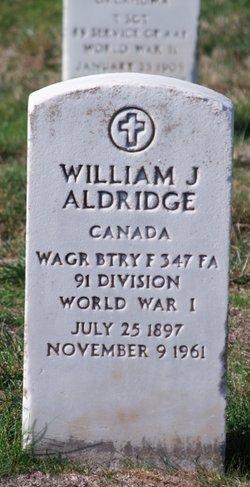 William J Aldridge