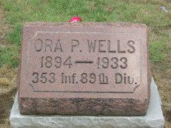 """Ora Pean """"Peany"""" Wells"""