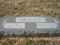 Rachel July <I>Whiteley</I> Gilliland