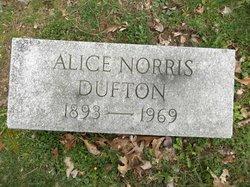 Alice <I>Norris</I> Dufton