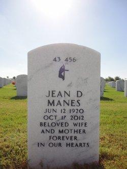 Jean D Manes