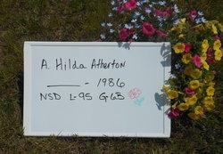 A Hilda Atherton