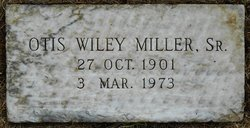 Otis Wiley Miller, Sr