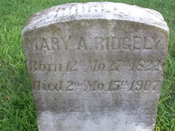 Mary Ann <I>Mifflin</I> Ridgely