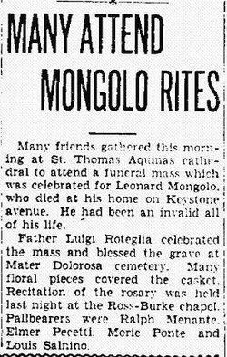 Leonard Mongolo