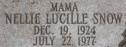 Nellie Lucille <I>Snow</I> Eubanks