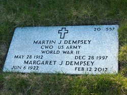 Martin J Dempsey