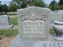 """Edward Walter """"Teddy"""" Halstead"""