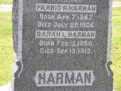 Sarah L. <I>Haunn</I> Harman