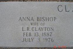 Anna Rebecca <I>Bishop</I> Clayton