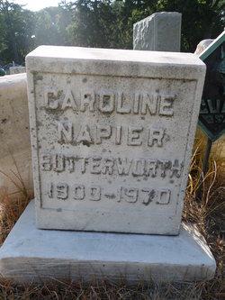 Caroline H <I>Napier</I> Butterworth