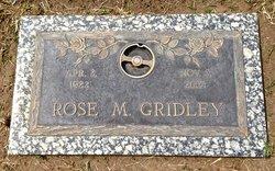 Rose M Gridley
