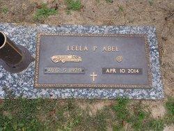 "Lella Pauline ""Miss Polly"" <I>Fonville</I> Abel"