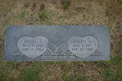 Hazel Irene <I>Snyder</I> Cook