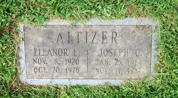 Eleanor Louise <I>Shumate</I> Altizer