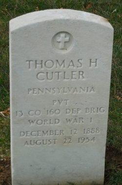 Thomas H Cutler