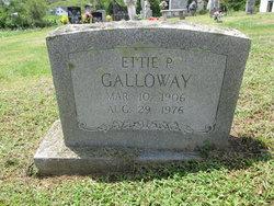 Ettie Pearl <I>Kinsler</I> Galloway