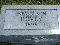 Infant Son Hovey