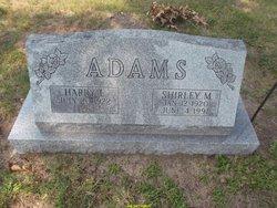 Shirley M <I>Millett</I> Adams