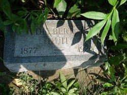 """Edelbert Jefferson """"Delbert"""" Huitt"""