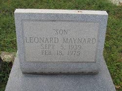 Leonard Maynard