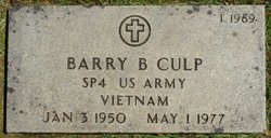 Barry B Culp