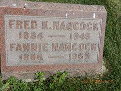 Fannie Rachael <I>Baker</I> Hancock