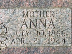 Anna Frances <I>Weston</I> Ismay