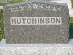 Mary Frances <I>Lewis</I> Hutchinson
