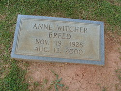 Anne <I>Witcher</I> Breed