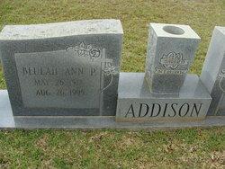 Beulah Ann P. Addison