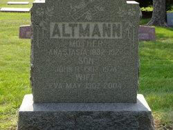 Anastasia <I>Kasper</I> Altmann