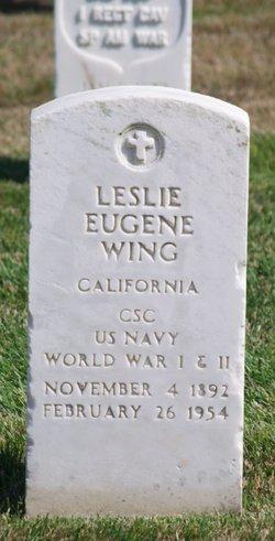 Leslie Eugene Wing