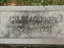 Ada Blackburn