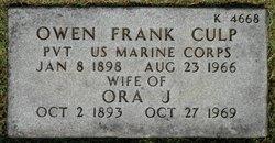 Owen Frank Culp