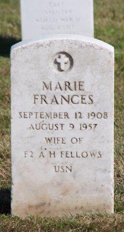 Marie Frances Fellows