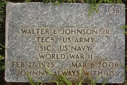 Walter Edward Johnson, Jr