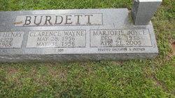 Marjorie <I>Henry</I> Burdett