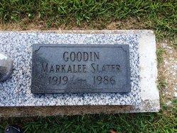 Markalee <I>Goodin</I> Slater
