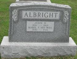 Mabel Frances <I>Garman</I> Albright