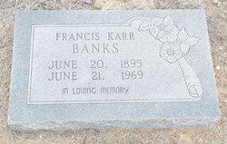 Willie Francis <I>Brinlee</I> Banks