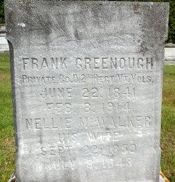 "Ellen Maria ""Nellie"" <I>Walker</I> Greenough"