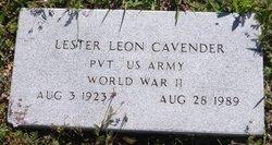 Lester Leon Cavender